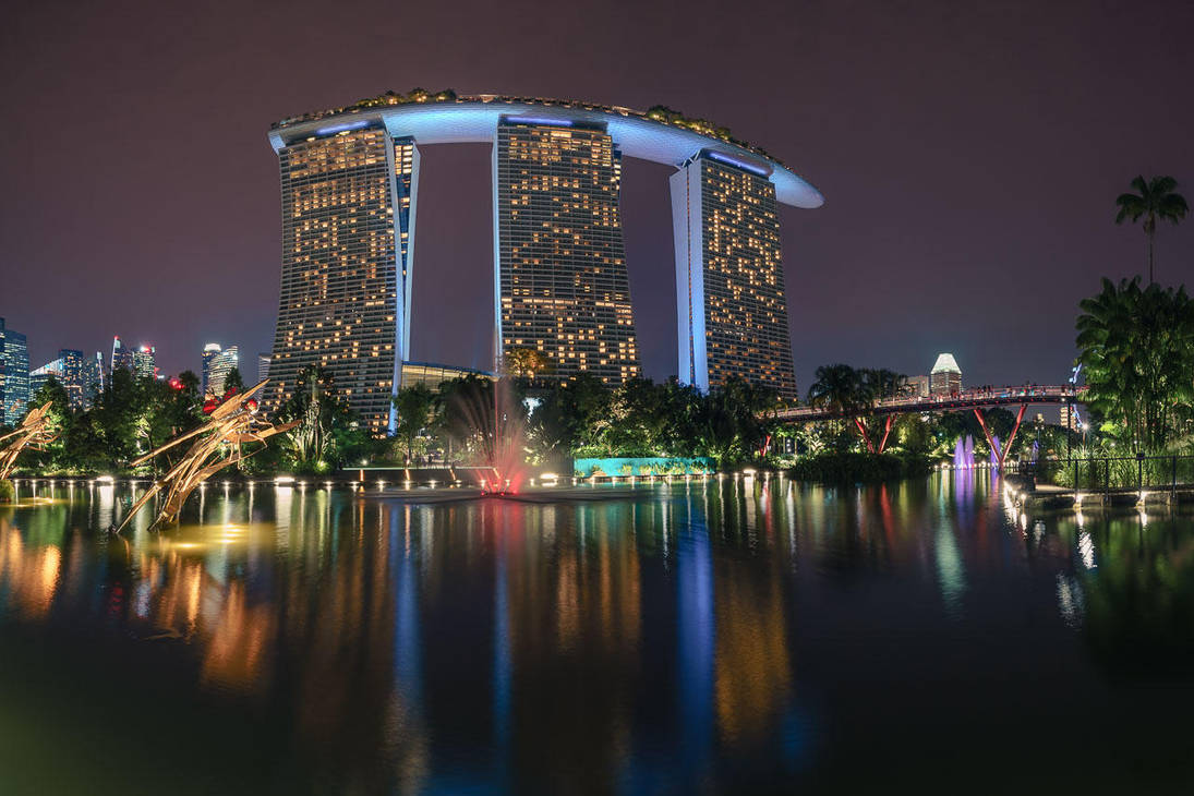 Marina Bay Sands by Stefan-Becker