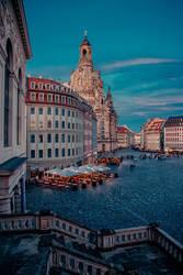 Neumarkt Dresden by Stefan-Becker