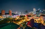 Singapore by night by Stefan-Becker