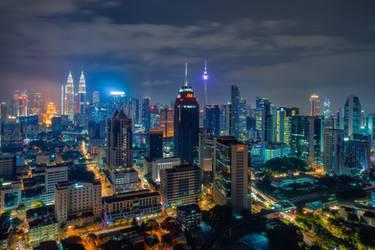 Kuala Lumpur by Stefan-Becker