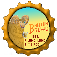 Bantha Brew Bottlecap by TibodinJay