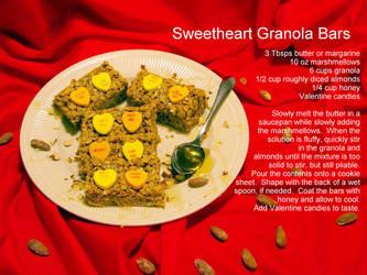 Sweetheart Granola Bars by TibodinJay
