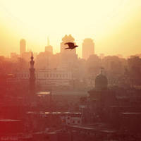 Cairo Sunset by HONEST-STYLE