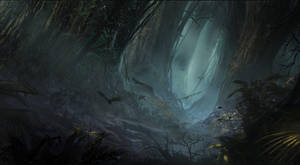 dark forest by waqasmallick