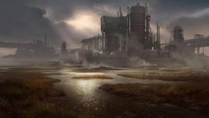 Industrialized Marshland by waqasmallick