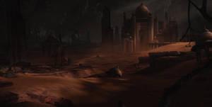 Desert City by waqasmallick