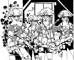 Squad 1 by TonyBourne