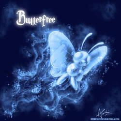 Butterfree Patronus by TheVirusAJG