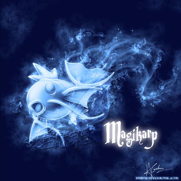 Magikarp Patronus by TheVirusAJG