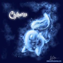 Chikorita Patronus by TheVirusAJG