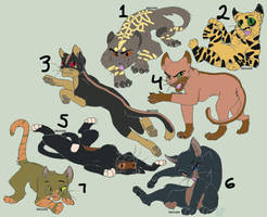Cat Adoptable #31 - OPEN by UNDEAD-ADOPTS2034