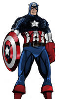Captain America by TimelessUnknown