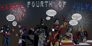 Superhero Cookout by TimelessUnknown