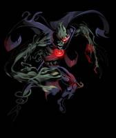Zombie Martian Manhunter by TimelessUnknown