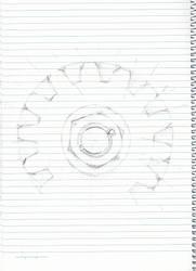 Gear Sketch by elrunethe2nd