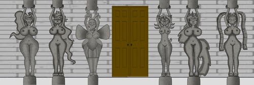 The Pillars of the Mansion by VolcanoElement