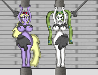 Yuki and Shimmy Pillars preparing by VolcanoElement