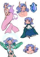 C: MCW Kenisha Sketchpage by iCheddart