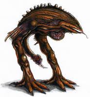 Beakie Alien by Jarumo
