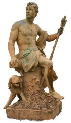 statue 02 PNG precut by blonboy
