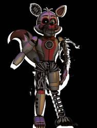 Phantom Funtime Foxy by tord-fml