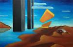 Armageddon Pillars - Desert by arthurzdrinc
