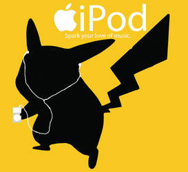 Pikachu iPod by Bleachigo1270