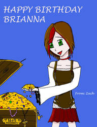 Brianna the Pirate by Bleachigo1270