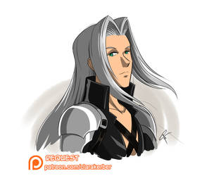 Patreon Request - Sephiroth by ClaraKerber