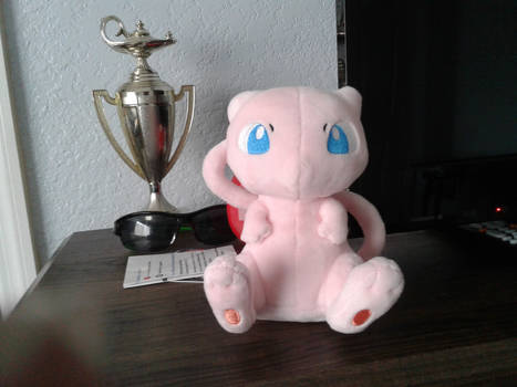 Mew Plushie by GhostlyGuy99