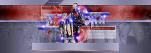 Rita Ora PSD Header by BrielleFantasy
