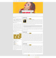 Charli XCX WordPress Theme {Free} by BrielleFantasy