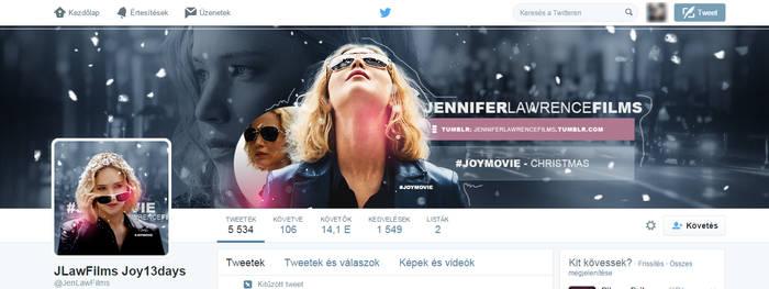 Jennifer Lawrence Films ~ Joy Twitter Design by BrielleFantasy