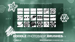 Doodle Photoshop Brushes by BrielleFantasy