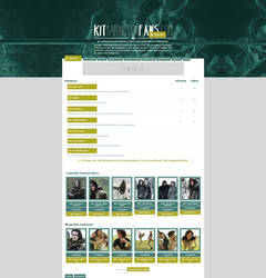 Kit Harington Fans ~ Coppermine Gallery Theme by BrielleFantasy
