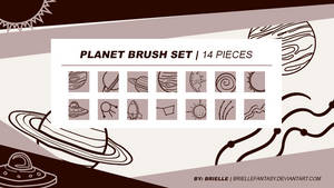 Planet Brush Set | FREE by BrielleFantasy