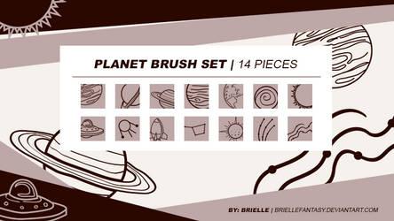 Planet Brush Set | FREE by BrielleFantasy