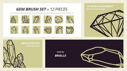Gem Brush Set | FREE by BrielleFantasy