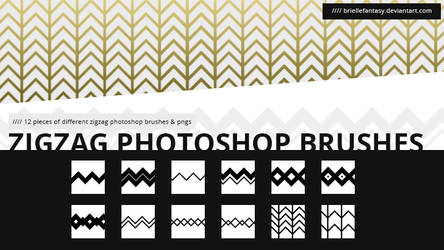 ZigZag Brush Set | FREE by BrielleFantasy