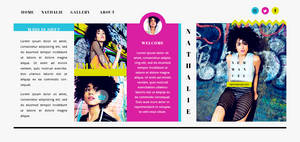 Nathalie Emmanuel PSD Header | FREE by BrielleFantasy