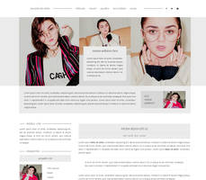Maisie Williams Gportal Theme | FREE by BrielleFantasy