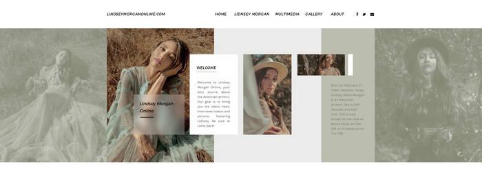 Lindsey Morgan PSD Header by BrielleFantasy