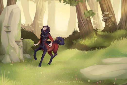 Run in the Wind by Reyniki