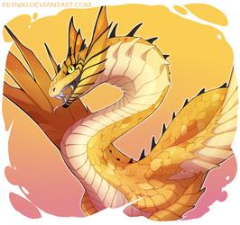 Golden Grin by Reyniki