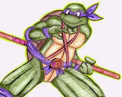 Lets kick shell Don by HaruEta