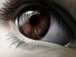 My Eye by blue-brandon