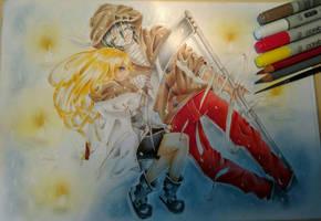 AoD ZackxRay by ZuukiGothzilla