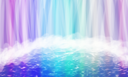 Magical Waterfall by TheWolf-13