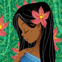Flower Girl by Eliwi