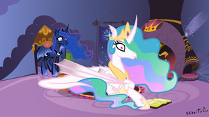 Spell Gone Wrong Royal Sisters by MissiTofu